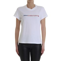 tshirt bianca in cotone