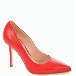 red marilyn pumps