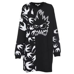 black psycho billy dress