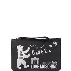 LOVE MOSCHINO BAGS CLUTCH BAGS