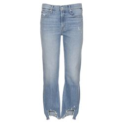 jeans cropped denim