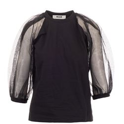 MSGM TOP WITH SLEEVES