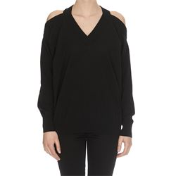 cut out detail black sweater