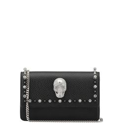 leather studded crossbody