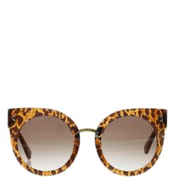 leo printed sun glasses