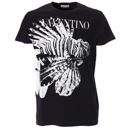 black printed tshirt