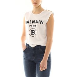 BALMAIN T-SHIRTS AND POLOS WITH SLEEVES