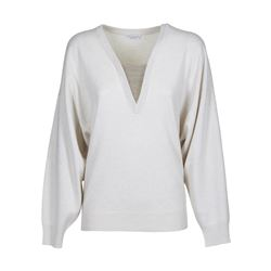 BRUNELLO CUCINELLI SWEATERS V NECK