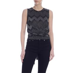 M MISSONI TOP WITH SLEEVES