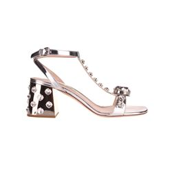 MIU MIU SANDALS WITH HEEL