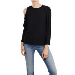 PINKO TOP WITH SLEEVES