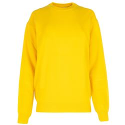yellow oversize sweater
