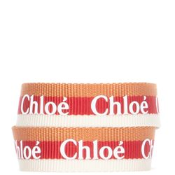 striped fabric braclet