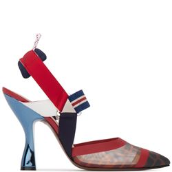 colibrì slingback pumps with ribbons