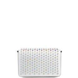 leather crossbody with spikes