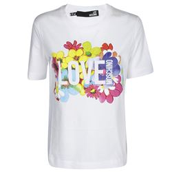 LOVE MOSCHINO T-SHIRTS AND POLOS SHORT SLEEVED