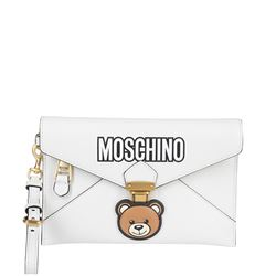 pouch in pelle teddy bear