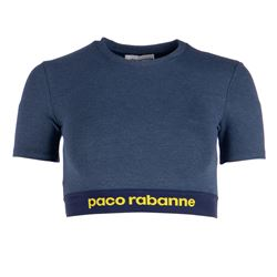 PACO RABANNE TOP WITH SLEEVES