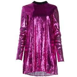 sequined short dress