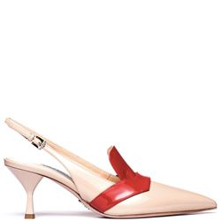 PRADA WITH HEEL MID HEEL