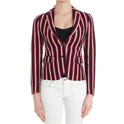 striped cotton jacket