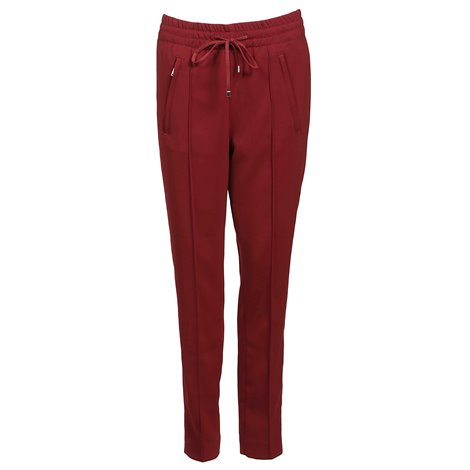 pantaloni rossi con coulisse