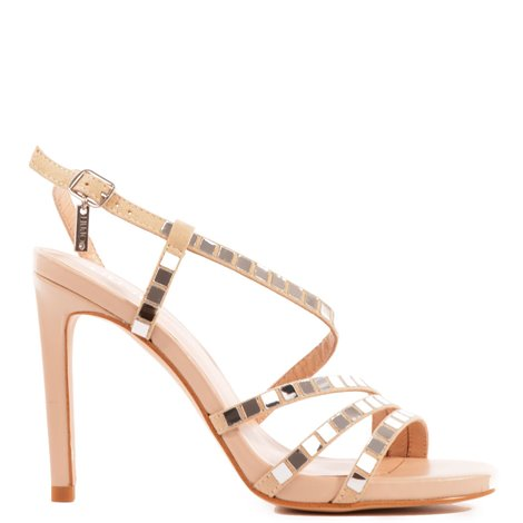 bloom sand colored sandals