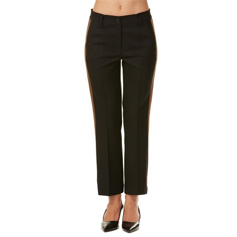 black 'lilu' cropped pants