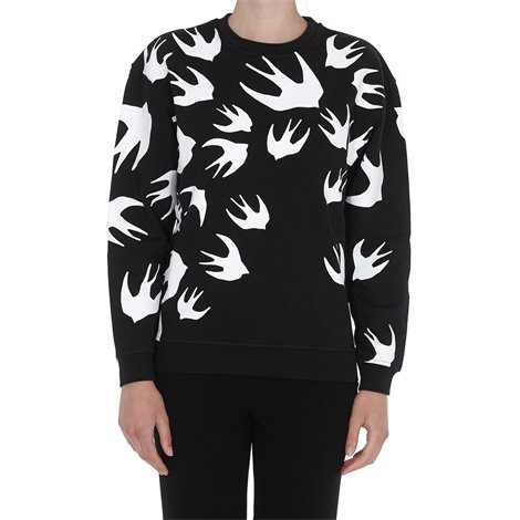 black  swallow sweatshirt