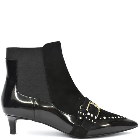 30mm black ankle boots
