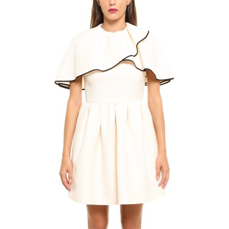 white cady couture dress
