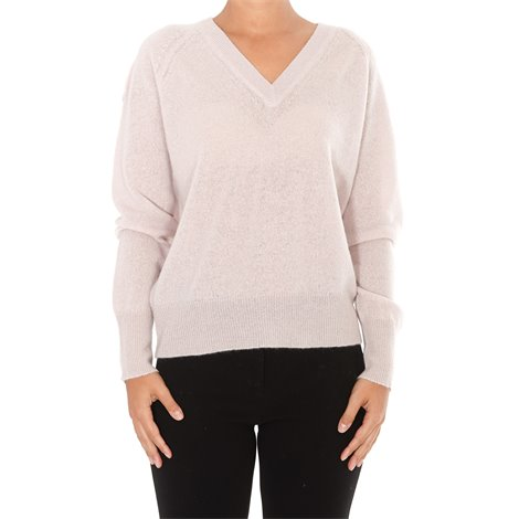 pink cashmere callie sweater