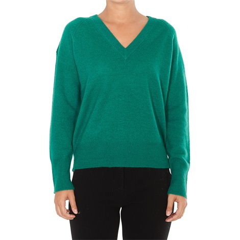 green cashmere callie sweater