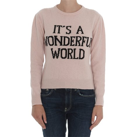 maglia it's a wonderful world  rosa