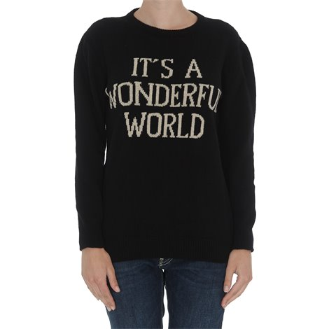 maglia it's a wonderful world nera