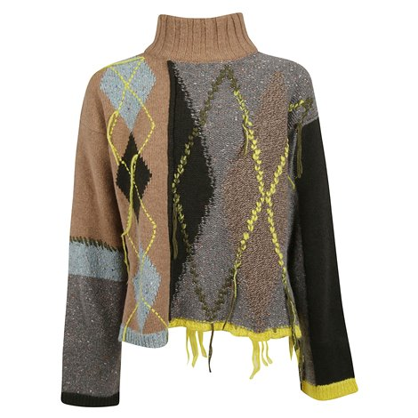 wool multicolor sweater