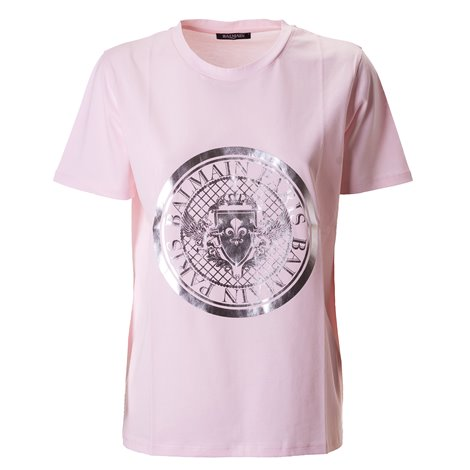 cotton logoed t-shirt