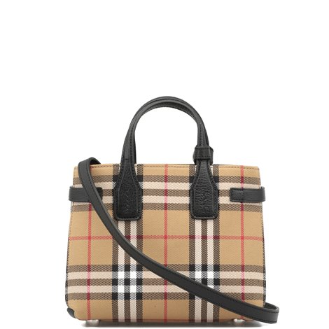 iconic check cotton bag