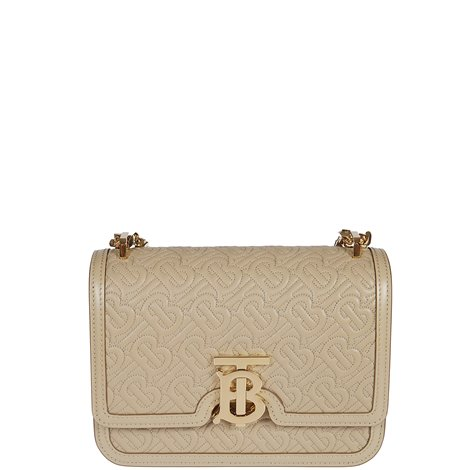 beige leather hand bag
