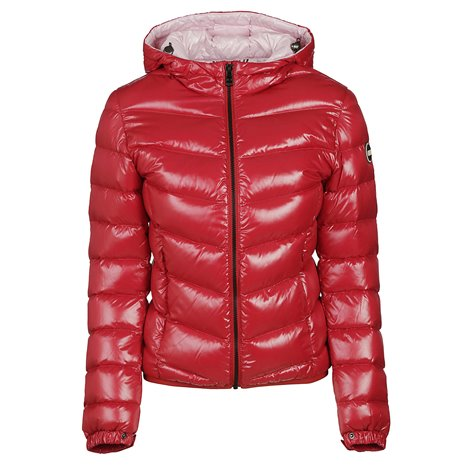 red down filled  jacket