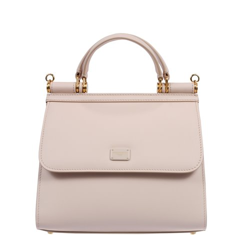 pink leather sicily 58 bag