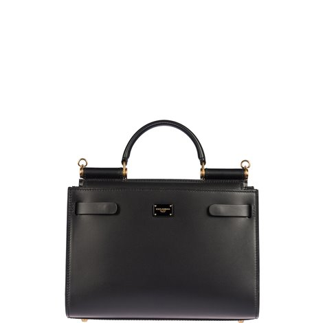 black leather small sicily 62
