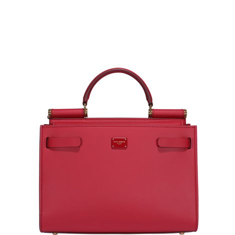 red leather small sicily 62 hand bag