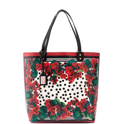 portofino printed shopper bag