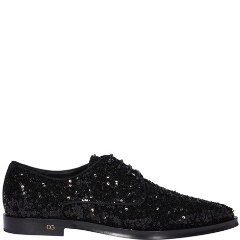 black embellished derby
