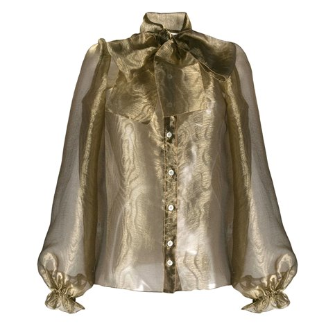 blusa color oro