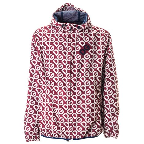 all over logoed jacket