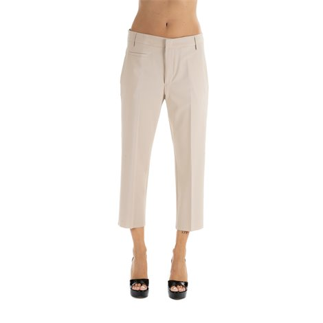 casual cropped  ariel trousers