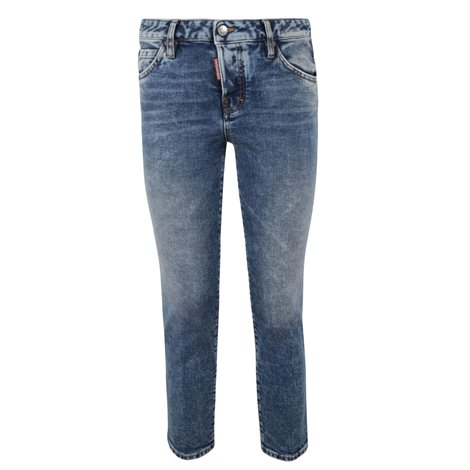 jeans cropped cool girl