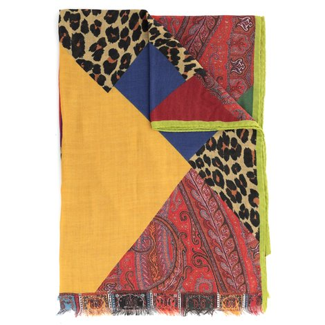 wool and silk scarf